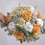 Brautstrauß – Winterhochzeit