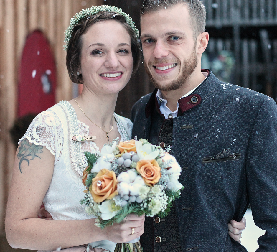 Winterhochzeit – Blumen für die Hochzeit im Winter
